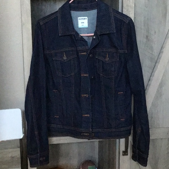Old Navy Jackets & Blazers - Dark denim jacket